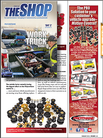 The Shop Magazine Polyurethane Article, Feb. 2020