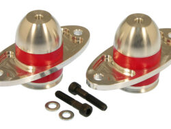 FORD Mustang 4.0L & 4.6L (05-17) Billet Alumimum and Urethane Bullet Motor Mount Kit #6-505